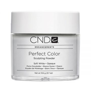 CND Perfect Color Sculpting Powder Soft White - Opaque 104g