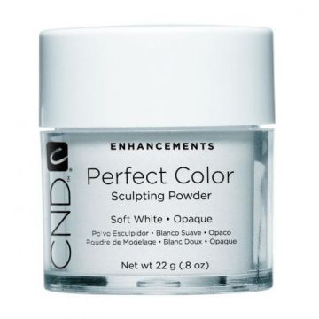 CND Perfect Color Sculpting Powder Soft White - Opaque 22g