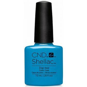 CND Shellac Digi Teal 7,3ml