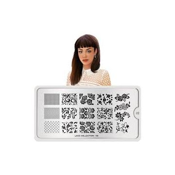 MoYou Lace 02 Stamping Plates