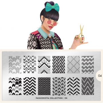MoYou Fashionista 04 Stamping Plates