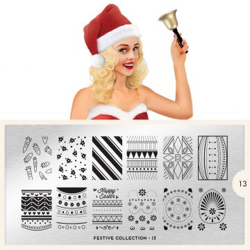 MoYou Festive 13 Stamping Plates (Pasen)