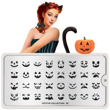 MoYou Festive 29 Stamping Plates (Halloween)