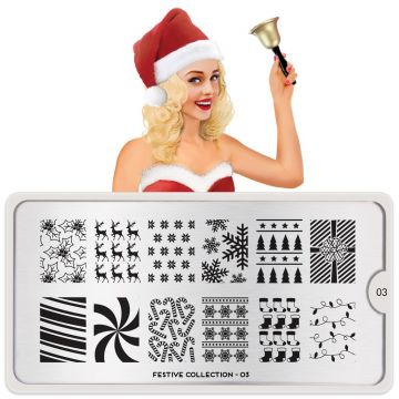 MoYou Festive 30 Stamping Plates (Christmas)