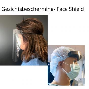 Gezichtsbescherming- Face Shield