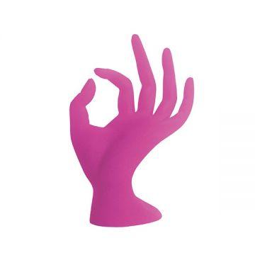 Bell'ure Glazen Hand Roze