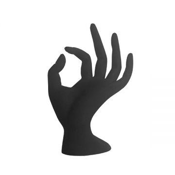 bell'ure Glazen Hand Zwart