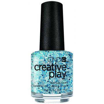 CND Creative Play Kiss And Teal 13,6ml