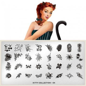 MoYou Kitty 04 Stamping Plates