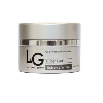L&G Fiber Gel Extreme White 30ml