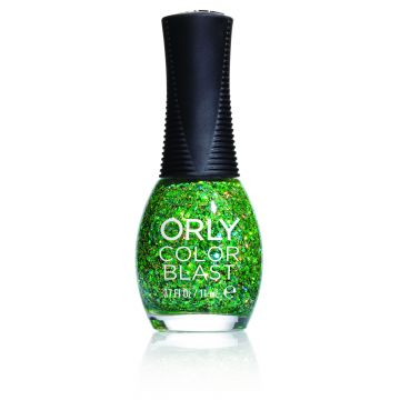 Orly Color Blast Lime Green Chunky Glitter 11ml