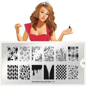 MoYou Princess 13 Stamping Plates