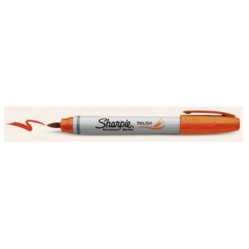 Sharpie Brush Orange