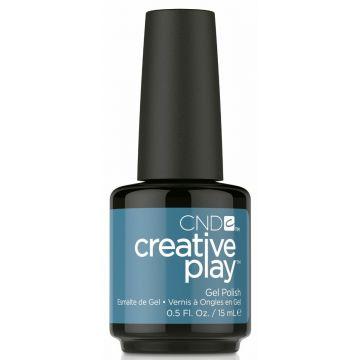 CND Creative Play Gel Polish-Teal The Wee Hours 15ml