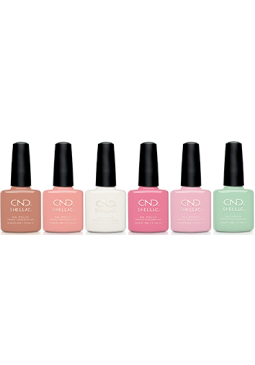 CND Shellac English Garden Lente Collectie