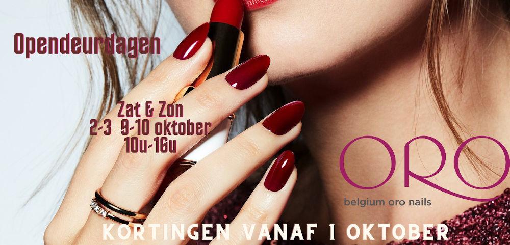 Opendeurdagen Zaterdag en Zondag, 2-3 en 9-10 oktober, 10u-16u. Kortingen vanaf 1 oktober.