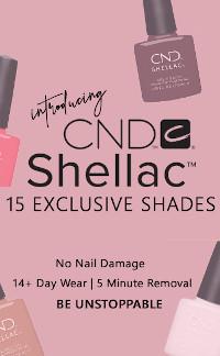 CND Shellac 15 nieuwe kleuren