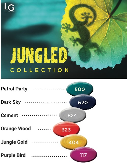 Jungled Collection Color Gel