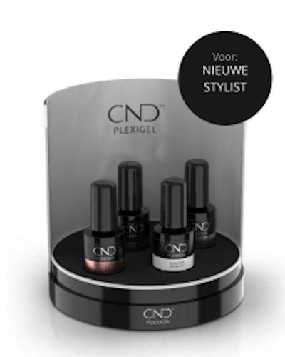 CND Plexigel voor de nieuwe stylist